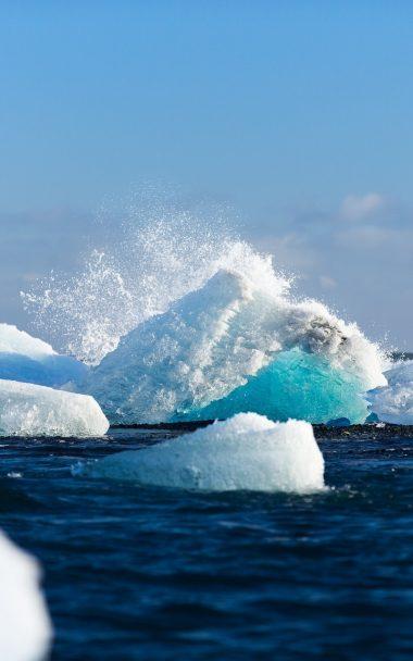 Arctic Ice Iceberg Snow 800x1280 380x608