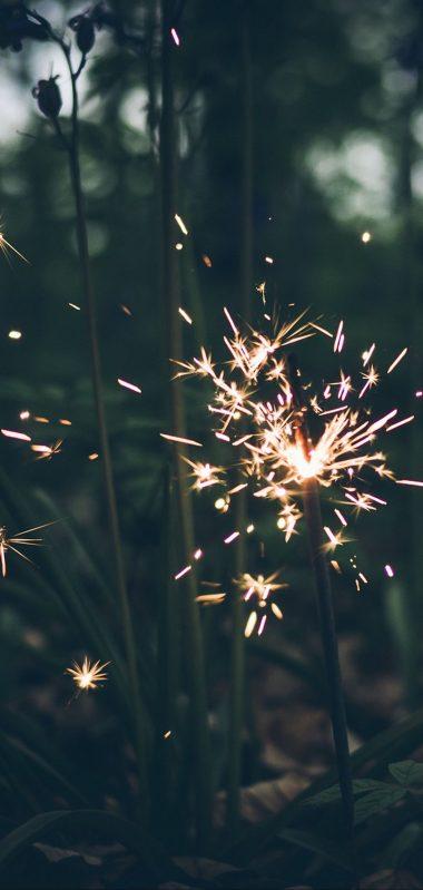 Bengal Fire Sparks Blur 1080x2270 380x799