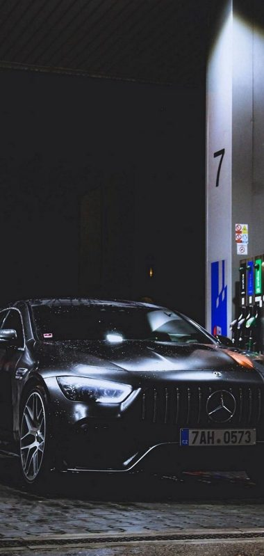 Benz Car Refueling Rain 1080x2270 380x799