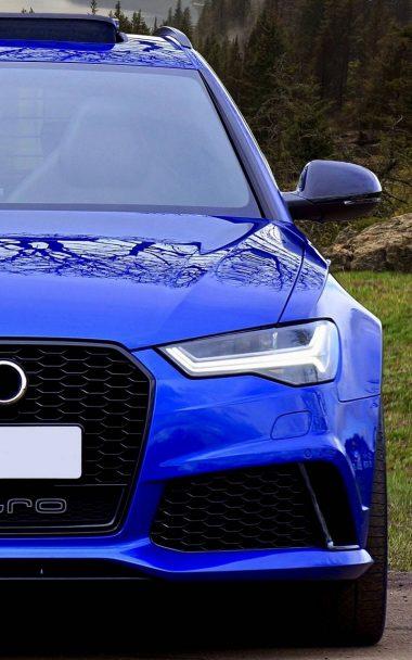 Blue Car Side 800x1280 380x608