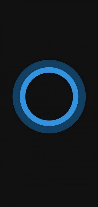 Bluish Circles Minimal 1080x2270 380x799