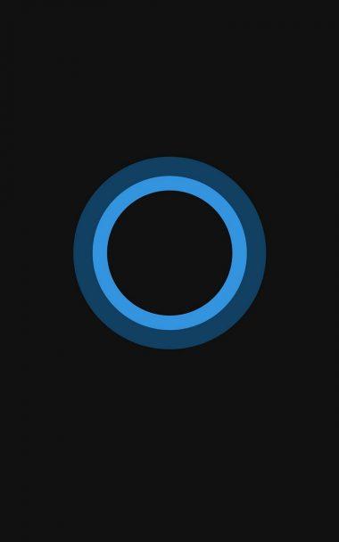 Bluish Circles Minimal 800x1280 380x608