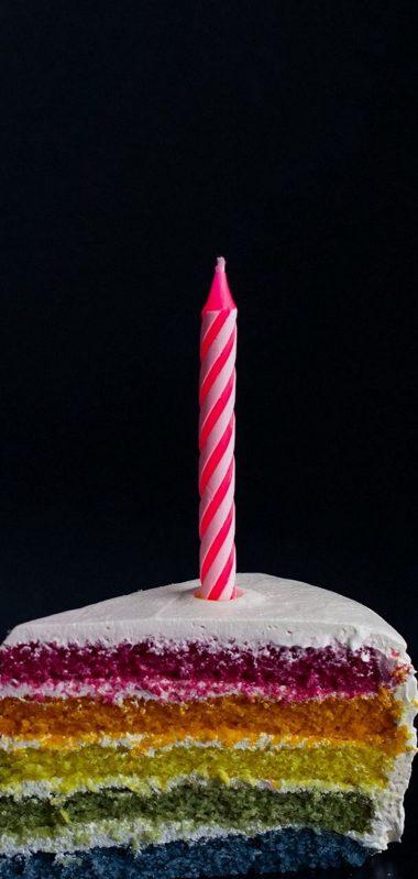 Candle Cake Food 1080x2270 380x799