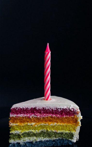 Candle Cake Food 800x1280 380x608