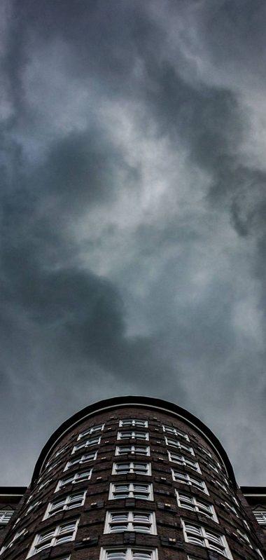 City Building Black Sky 1080x2270 380x799