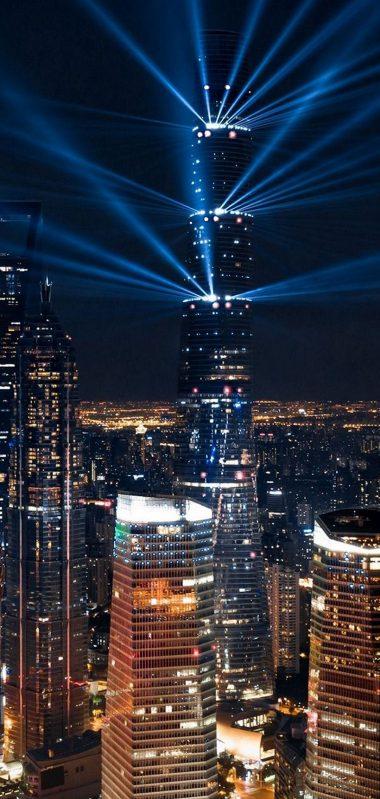 City Lights Aerial View 1080x2270 380x799