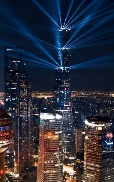 City Lights Aerial View 800x1280 380x608