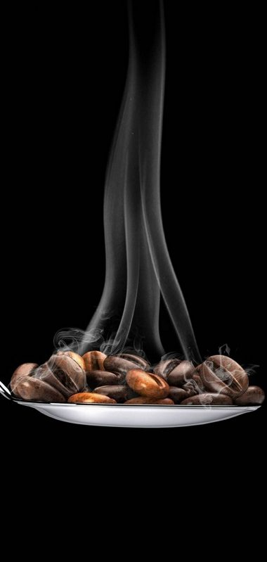 Coffee Beans Spoon Minimal 1080x2270 380x799