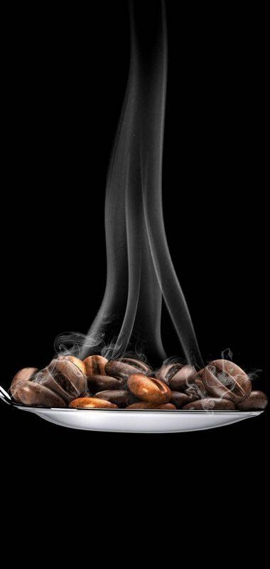 Coffee Beans Spoon Minimal 1080x2270 380x799