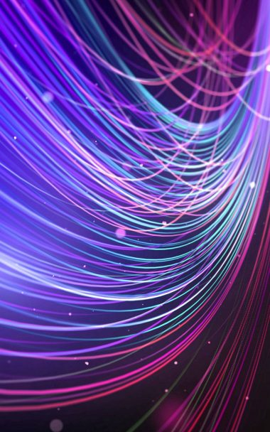 Colour Ful Wavy Lines Abstract 800x1280 380x608