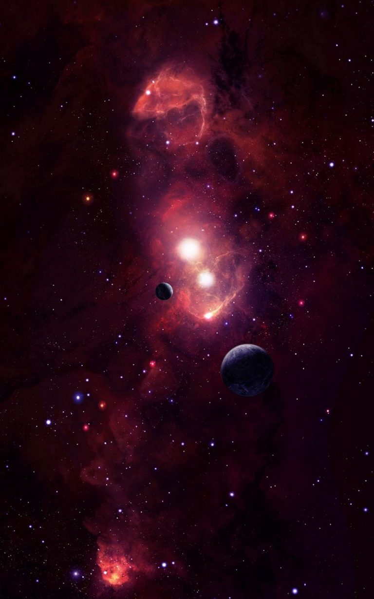 Cosmic Space Planets 800x1280 768x1229