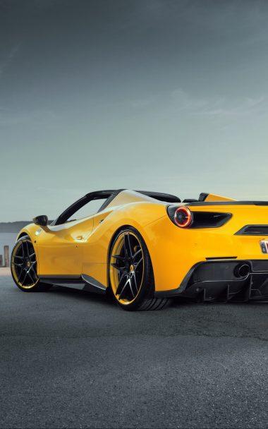 Ferrari Novitec Rosso Yellow 800x1280 380x608