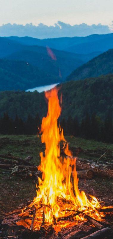 FireWood Campfire Mountain 1080x2270 380x799