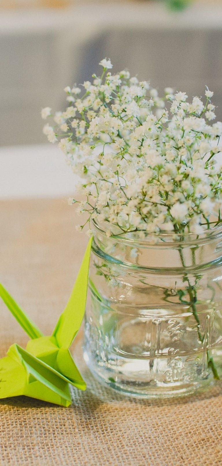 Flowers Vase Origami 1080x2270 768x1614