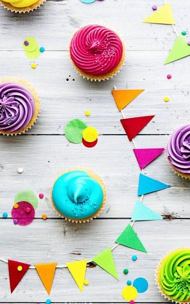 Food Cupcake Celebration 800x1280 380x608