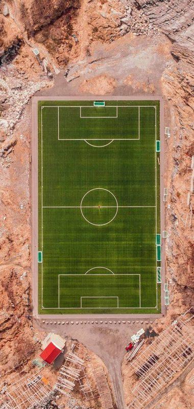 Football Field Island Sports 1080x2270 380x799