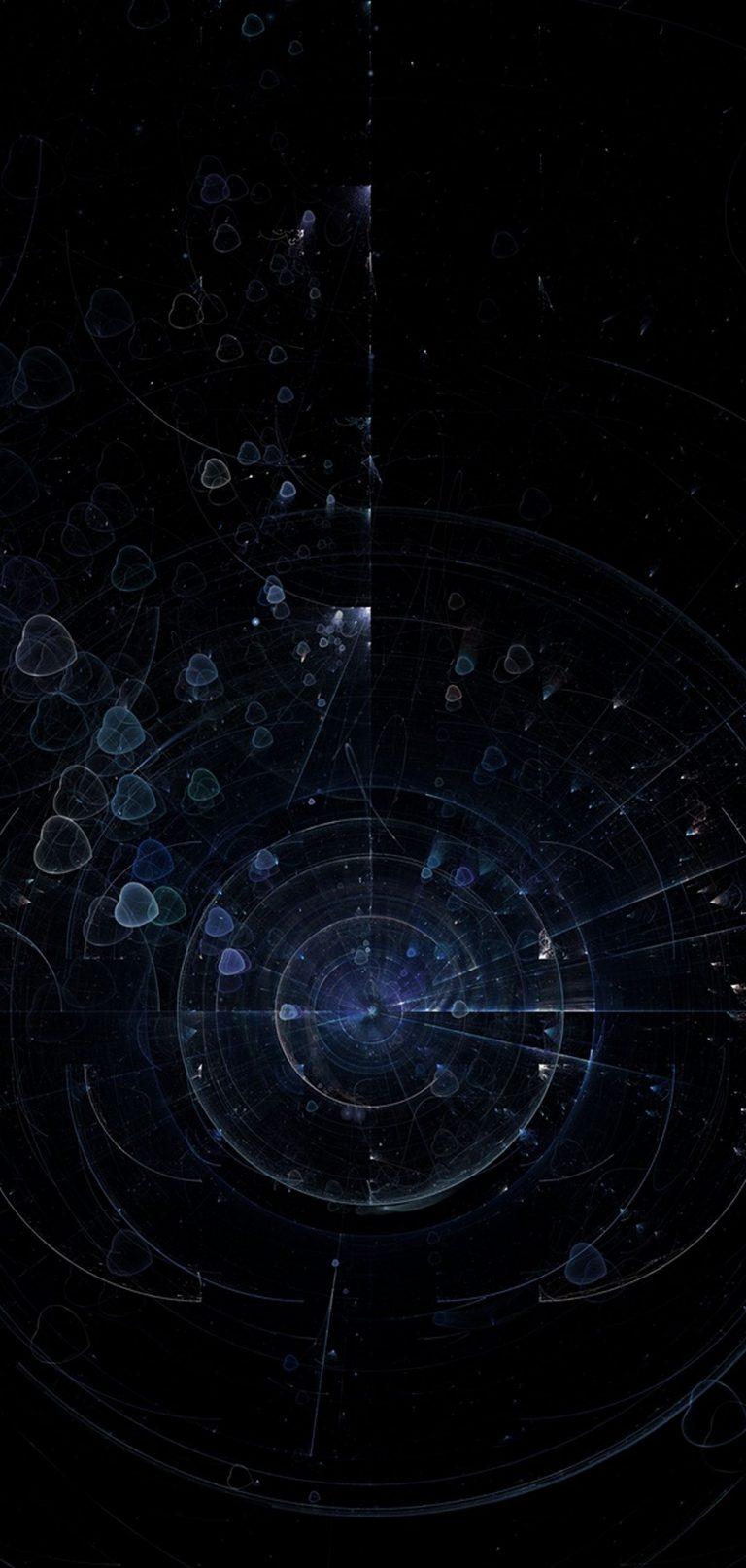 Fractal Circles Hearts 1080x2270 768x1614