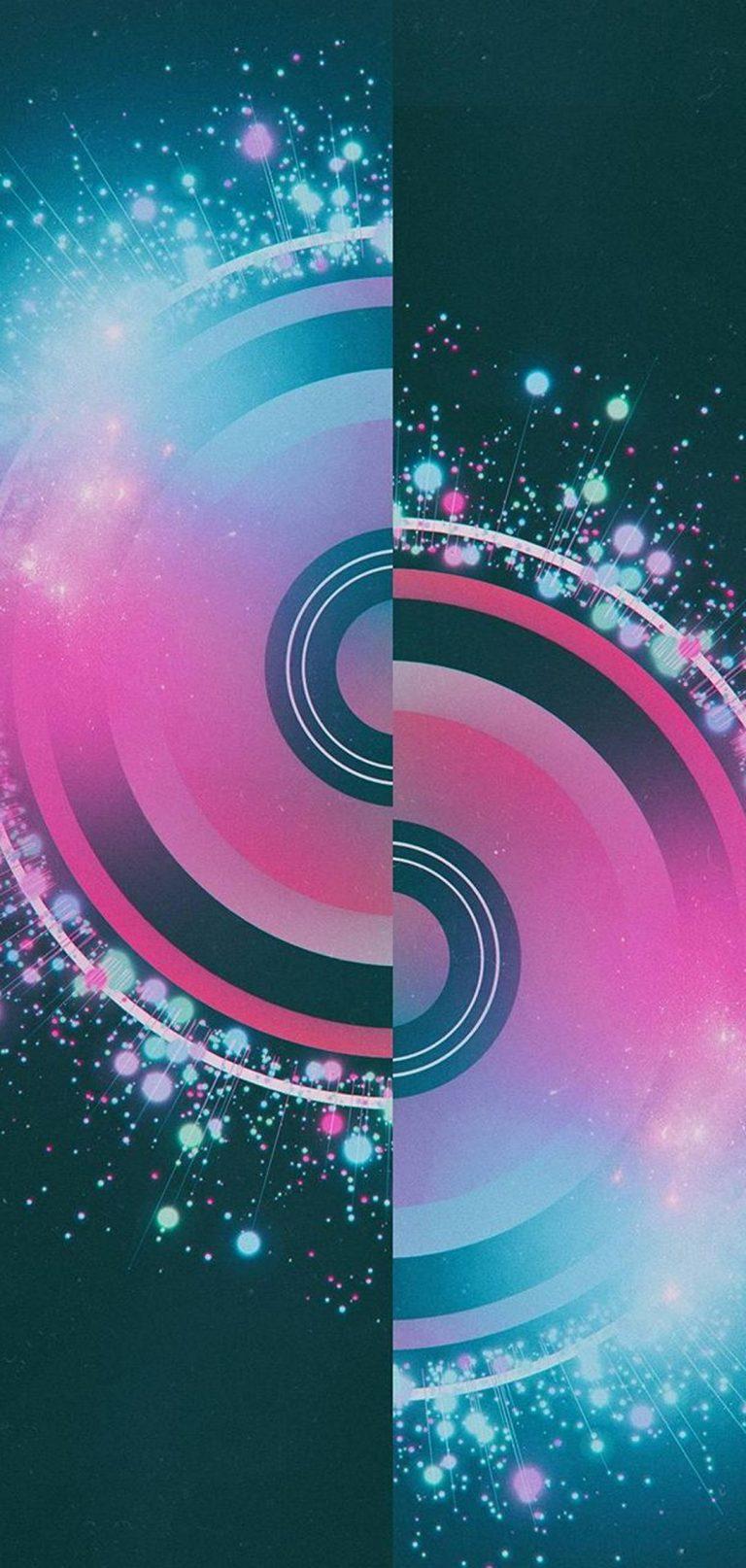 Half Circles Design Abstract 1080x2270 768x1614