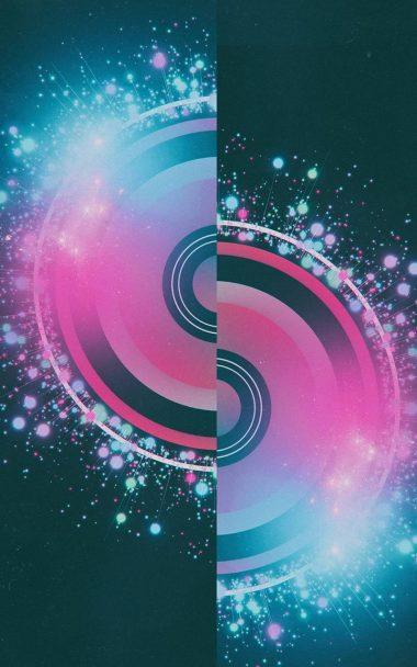 Half Circles Design Abstract 800x1280 380x608