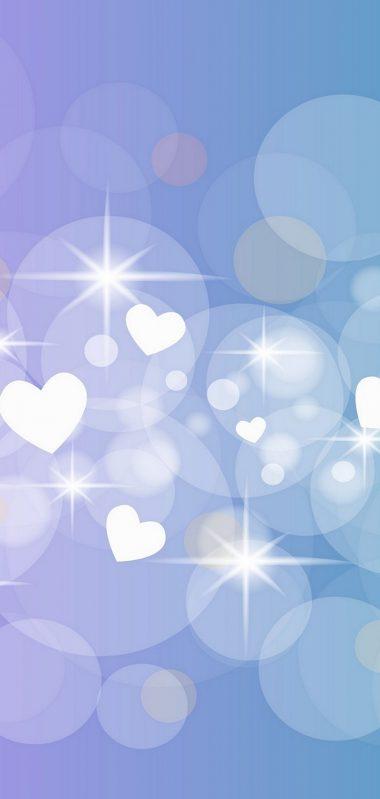 Hearts Circles Glitter 1080x2270 380x799