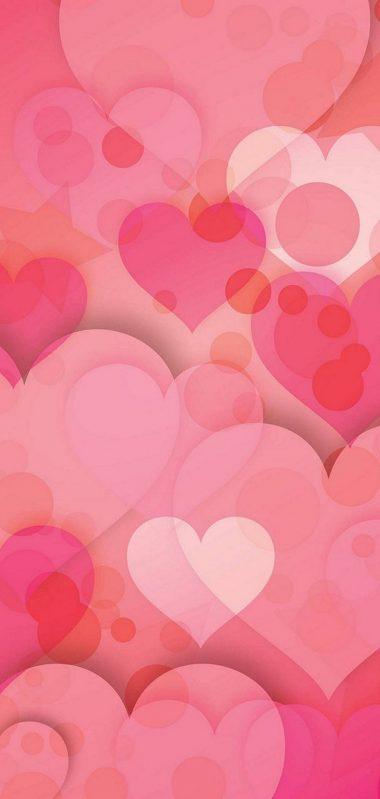 Hearts Love Pinky 1080x2270 380x799