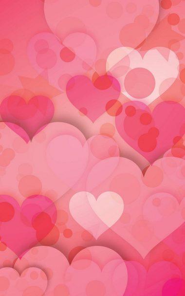 Hearts Love Pinky 800x1280 380x608