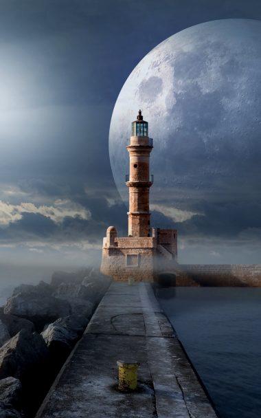 Lighthouse Moon Pier 800x1280 380x608