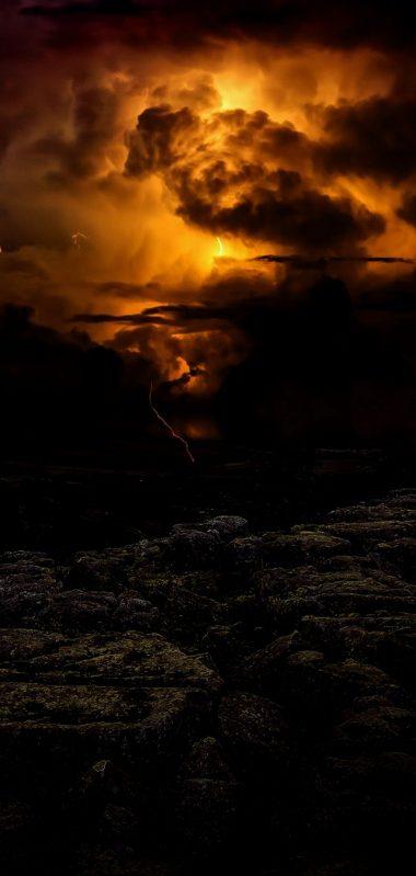Lightning Cloudy Storm 1080x2270 380x799