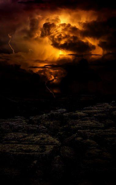 Lightning Cloudy Storm 800x1280 380x608