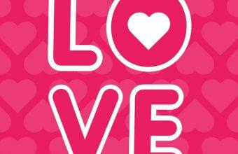 Love Inscription Hearts 800x1280 340x220