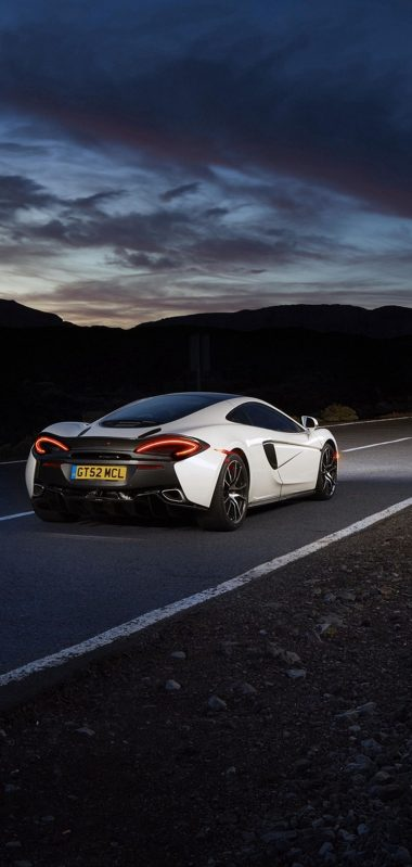 Mclaren 570gt Supercar Road Night Rear View 1080x2270 380x799