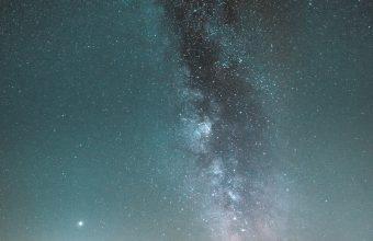 Milky Way Starry Sky Horizon 800x1280 340x220