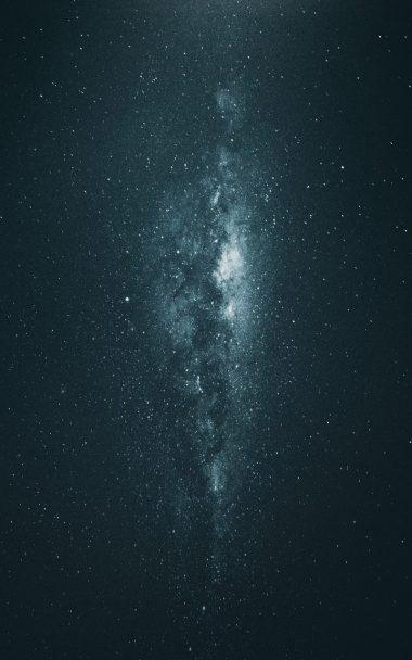 Milky Way Starry Sky Stars 800x1280 380x608
