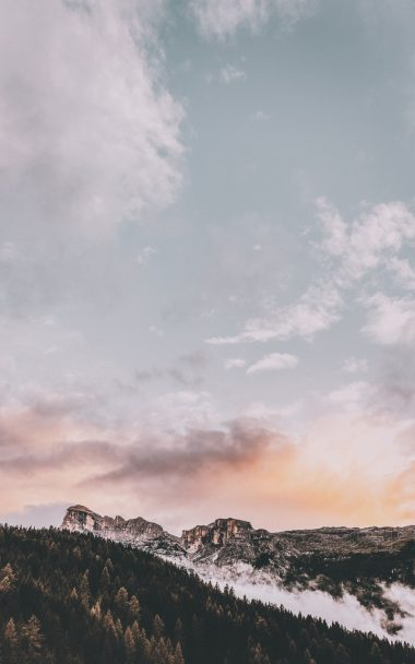 Mountains Peak Sky 800x1280 380x608