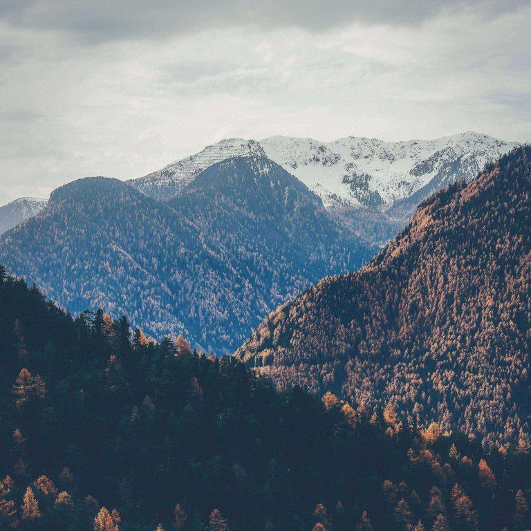 Mountains Peaks Autumn 2780x2780 768x768