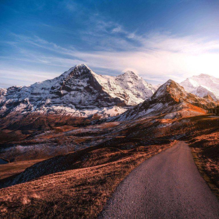 Mountains Road Asphalt 2780x2780 768x768