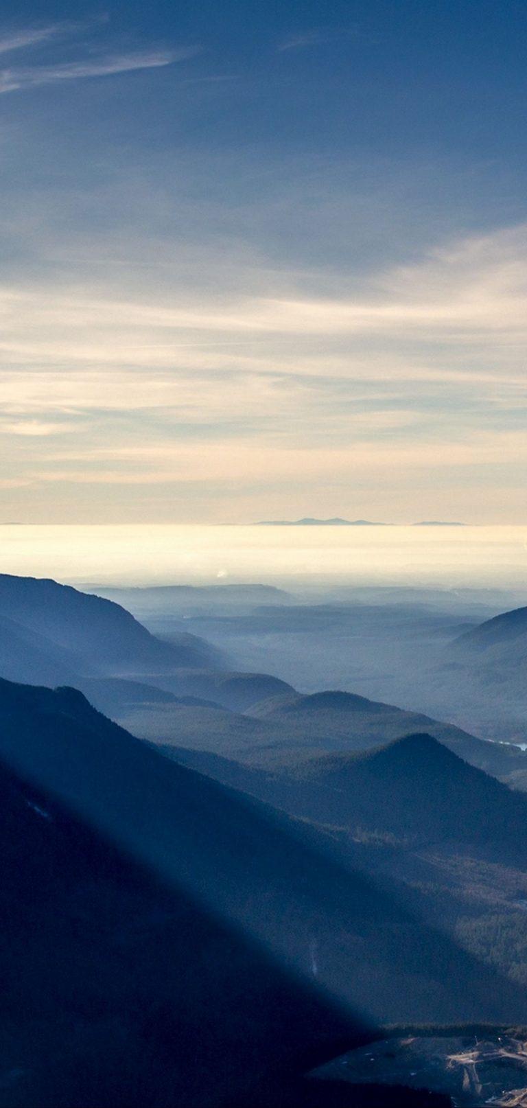 Mountains Sky Mist 1080x2270 768x1614
