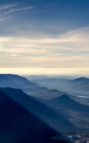 Mountains Sky Mist 800x1280 380x608