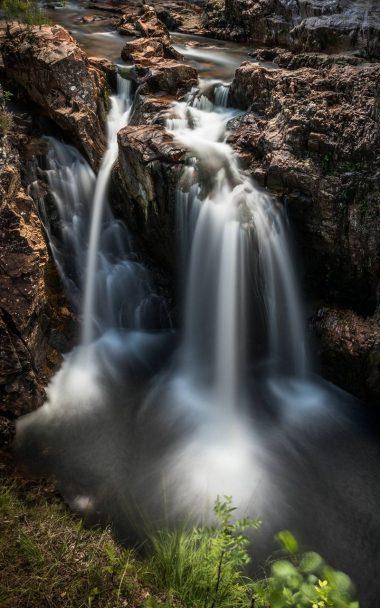 Nature Waterfall Breakage 800x1280 380x608