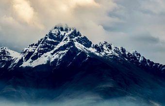 New Zealand Sea Mountains Sky Clouds 1080x2270 340x220