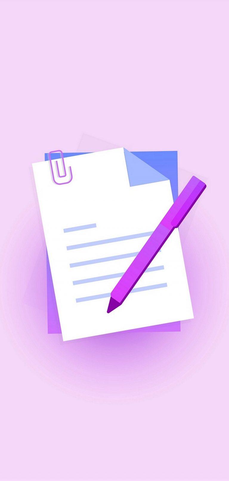 Note Symbol Pen 1080x2270 768x1614