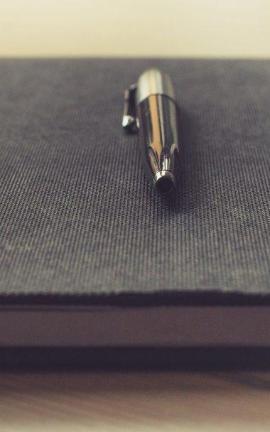 Notebook Pen Book 800x1280 380x608