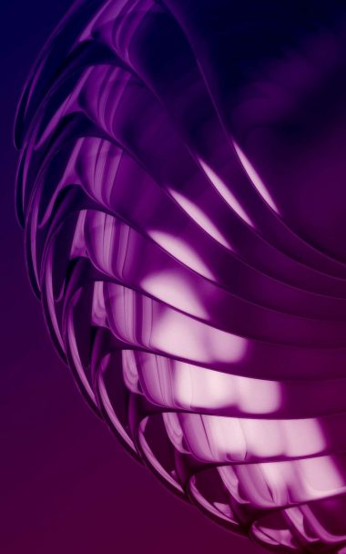 Purple Layers 3D Abstract 800x1280 380x608