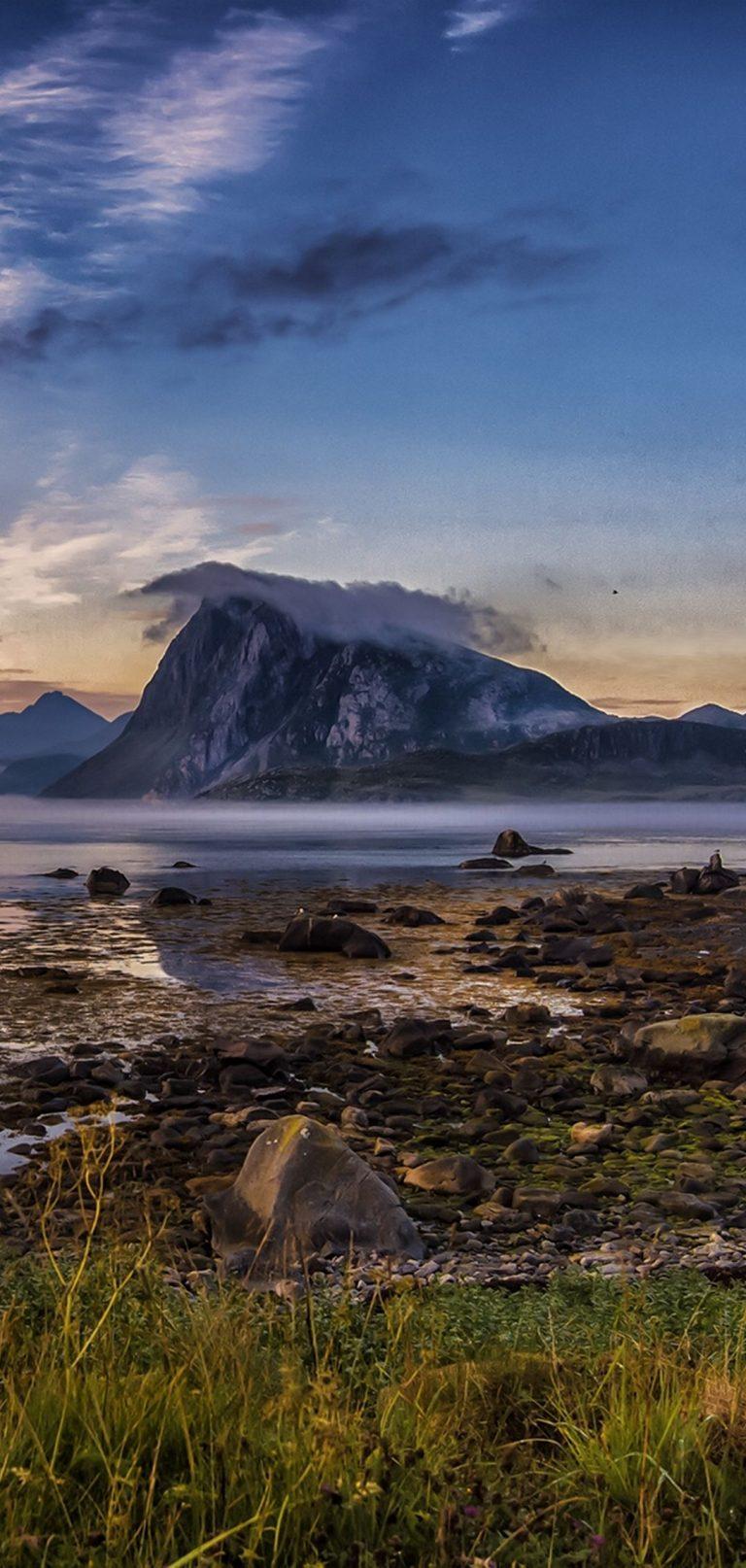 River Mountains Grass Rocks 1080x2270 768x1614
