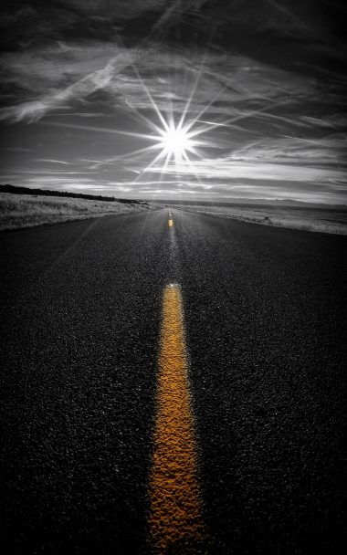 Road Marking Sunlight 800x1280 380x608