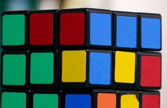 Rubiks Cube Puzzle Multi Colored 1080x2270 340x220