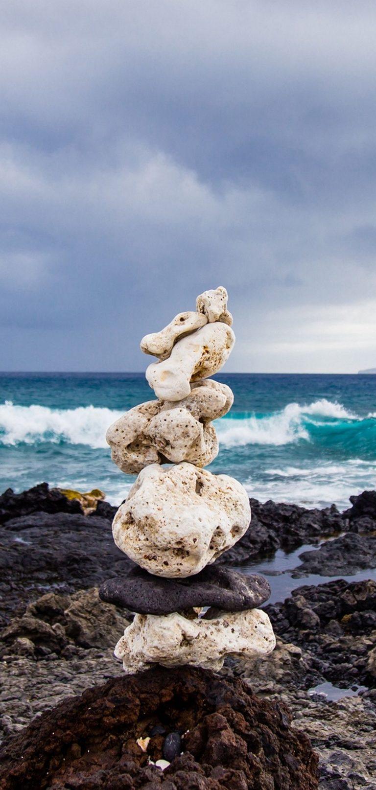 Sea Beach Stones 1080x2270 768x1614