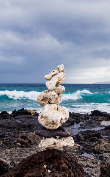 Sea Beach Stones 800x1280 380x608