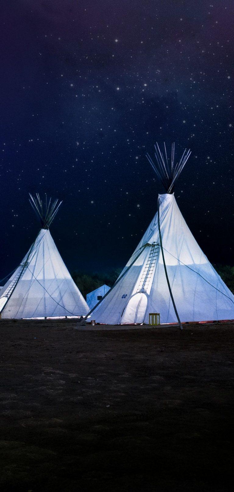Tents Night Stars 1080x2270 768x1614