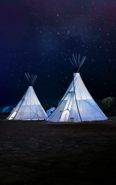 Tents Night Stars 800x1280 380x608